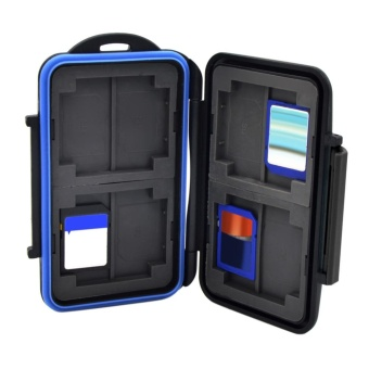 Memory Card Case Holder for 8 x SDHC Cards MC-SD8 WaterproofAnti-shock - intl - 2