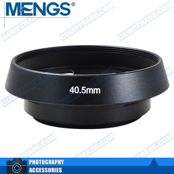 Mengs 40.5mm aluminum material bayonet Lens Hood for Leica
