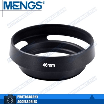 Mengs 46mm aluminum bayonet Lens Hood for Leica camera