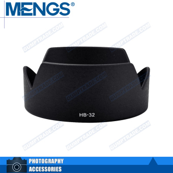 Mengs HB-32 petal shape Lens Hood for Nikon AF-S 18-70/3. 5