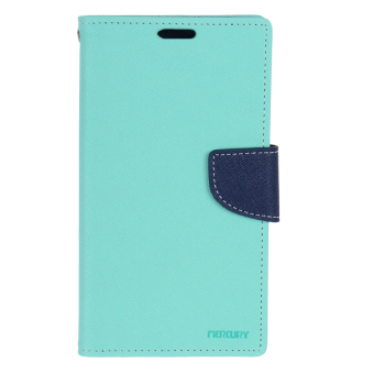 Mercury Fancy Diary for Samsung Galaxy Note II (Mint/Navy)