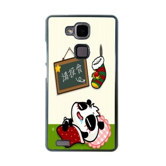 Merry Christmas Pattern Phone Case For Huawei Mate 7 (Multicolor)