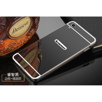 Metal Bumper and Mirror PC Back Cover Case For Lenovo S850 - intl