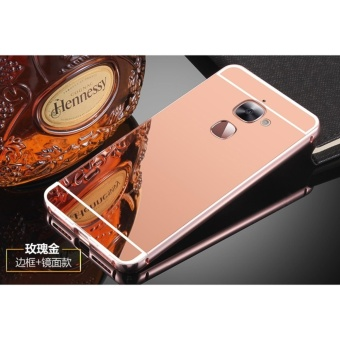 Metal Bumper and Mirror PC Back Cover Case For Letv Le 2 - intl