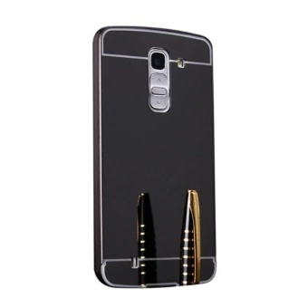 Metal Bumper and Mirror PC Back Cover Case For LG G Pro2 - intl