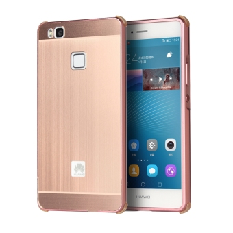 huawei p9 rose gold price. metal frame bumper case for huawei p9 lite (rose gold) - intl rose gold price