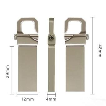 Metal USB Flash Drive Memory Stick Pen Thumb Key U Disk 256 GB (Silver) - intl - 5