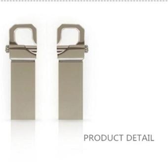 Metal USB Flash Drive Memory Stick Pen Thumb Key U Disk 256 GB (Silver) - intl - 3