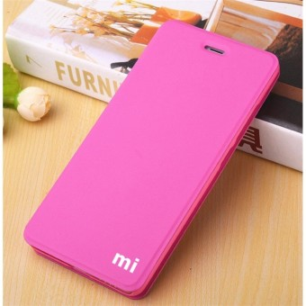 MI Flip Leather phone cover case For Xiao mi Redmi Note 4X(Rose Red)? - intl