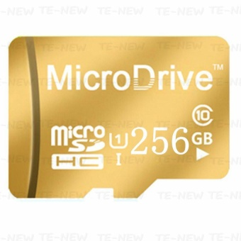 Micro Memory SD/TF Card Calss 10 256GB (Gold) - intl Price Philippines