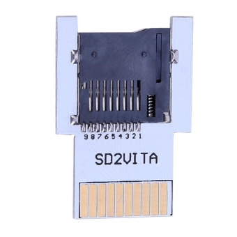 Micro SD Memory Transfer Card Adapter For PS 1000 2000 - intl
