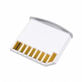 Micro SD TF to SD Card Kit Mini Adaptor for Extra Storage MacbookAir / Pro / Retina White