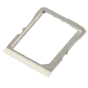 Micro SIM Card Slot for HTC One 801e/M7 (White)