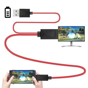 Micro USB MHL to HDMI Cable HDTV Converter Adapter for Androidsupport MHL only - intl