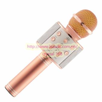 Microphone Wireless KTV Karaoke Bluetooth Handheld Mic HIFI Speaker WS858