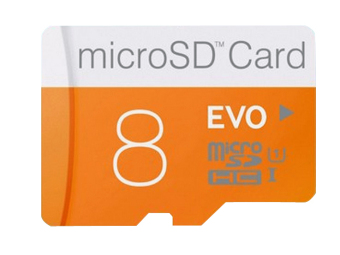 MicroSD Memory Card 8GB (Intl)