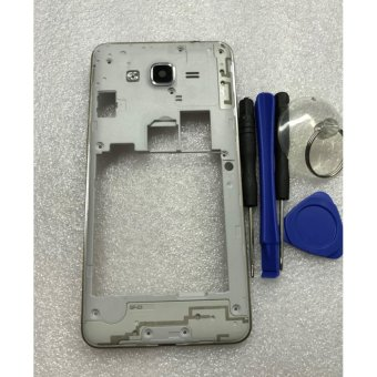 Middle Frame Bezel Cover For Samsung Galaxy Grand Prime G531H SM-G531 middle frame (Double Card) - intl
