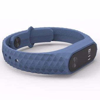Mijobs Silicone Wrist Strap Bracelet Colorful ReplacementWatchbands For Xiaomi Mi Band 2 Smart Bracelet Miband 2 Wristbands- intl