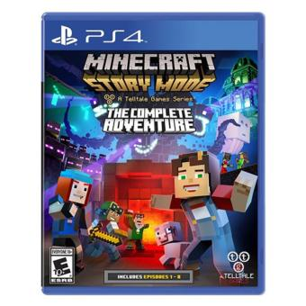 MINECRAFT STORY MODE COMPLETE ADVENTURE PS4 GAME R3,R1 MINTCONDITION