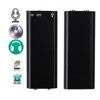 Mini 150Hr USB 8GB Digital Voice Recorder Dictaphone MP3 Player - intl