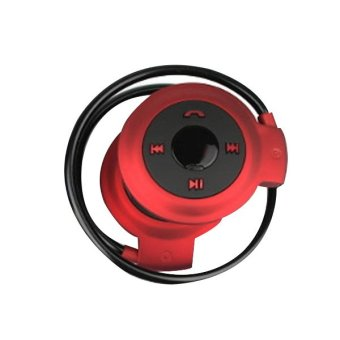 Mini 503 Foldable Bluetooth Stereo Headset (Red)