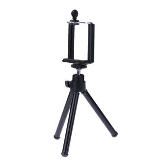 Mini Mobile Phone Stand Flexible Tripod for Smartphone Camera Video Black