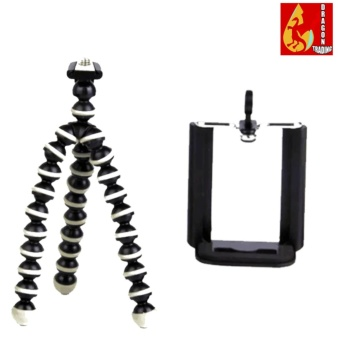 Mini Octopus Tripod for Digital Camera/Phone/GoPro Hero (Black)