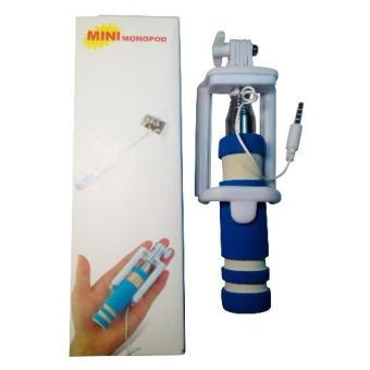Mini Selfie Stick Handheld Monopod for Cherry Mobile Flare XL Plus(Blue) - 2
