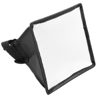 Mini Softbox Diffuser 19x23cm for DSLR Flash Speedlite SpeedlightPortable
