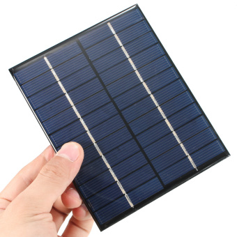 Mini Solar Panel Polycry Stalline Silicon for Cellphone Small DC Battery 2W 12V - picture 2
