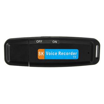 Mini USB Digital Pen Audio Voice Recorder Dictaphone 32 GB Flash Drive U-Disk Memory Pen Black - 4