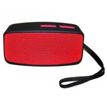Mini Wireless Bluetooth Speaker with FM Function (Red)