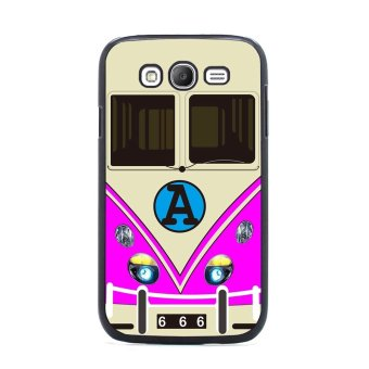 Minibus Teal Pattern Phone Case for Samsung Galaxy S3 (Pink)