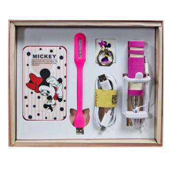 Minnie Mouse Power Bank 8800mAh 5 pcs Gift Set Price Philippines