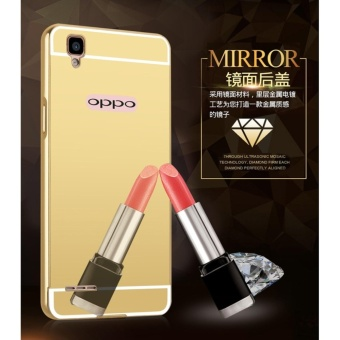 Image Detail Mirror back cover phone case for Oppo A11W / Joy 3/Black -