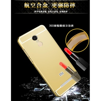 Mirror back cover phone case for Xiao mi Red mi Note 3/Black - intl - 2