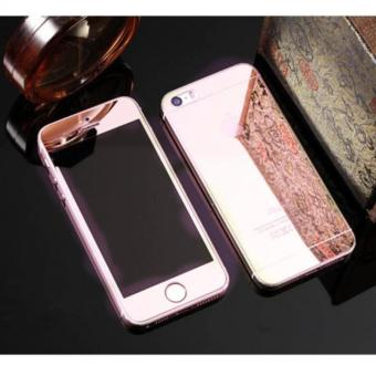 Mirror Style Tempered Glass Screen Protector for Apple iPhone 6s(Rose Gold)