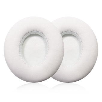 misodiko Replacement Headphone Earpads Cushions compatible forBeats Solo 2.0 (White) - intl. - 2