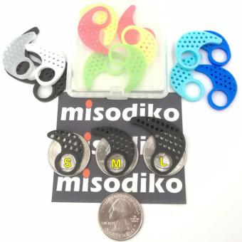 misodiko (S/M/L) Replacement Earfins In Ear Tips Fins compatiblefor Jaybird X X2 Earphone and Many In-ear Sport Headphones(3-Pairs) - intl - 2