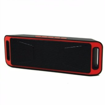Mobile Phone Accessories Portable Bluetooth Speaker Wireless StereoA2DP Moible Phone Loudspeaker Megaphone(Blue/Grey/Red)208