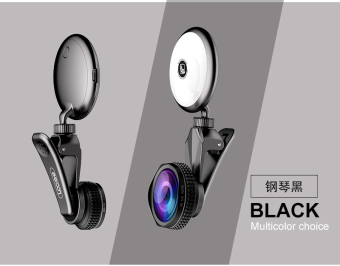 Mobile phone lens wide-angle macro camera head fill light lamp