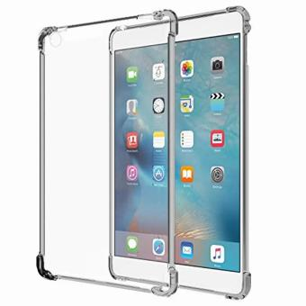 Mobilehub German Import Shockproof Silicone Clear Case For AppleiPad Mini 1/2/3 (Smoke Grey)