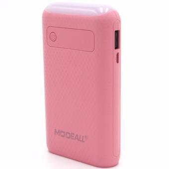 MODEALL M-03 20000mah LCD Display Dual Port PowerBank withFlashlight (Pink) - 2