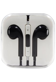 Model Stereo In-Ear Headphones for iPhone (Black)