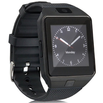 Modoex DZ09 Bluetooth Touch Screen Smart Wrist Watch Phone with Camera (Black)