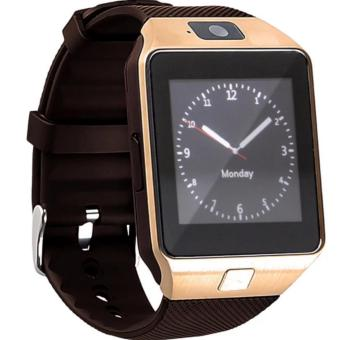 Modoex DZ09 Bluetooth Touch Screen Smart Wrist Watch Phone withCamera (Gold)