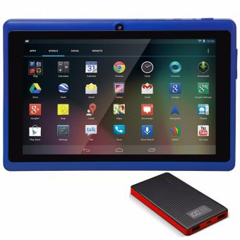 Modoex M710 Quad Core Tablet 8GB (Blue) with Pineng PN-960 6000mah Powerbank (Color May Vary )