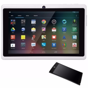 Modoex M710 Quad Core Tablet 8GB (White) with LHR HSP85 Ultra-thin One Button Erase 8.5 inch LCD Writing Tablet (Color May Vary)