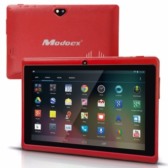 Modoex M710 Upgraded 1024 x 800 IPS Screen 512MB RAM 8GB ROM A7 Cortex Quad Core Tablet (Red)