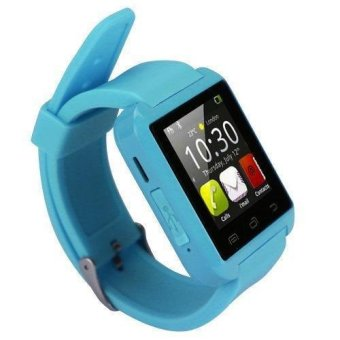 Modoex M8 Bluetooth Smart Watch (Blue) Buy 1 Take 1 - 5
